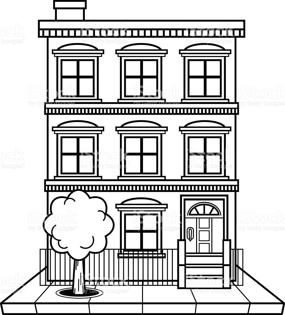 Apartment clipart black and white. Unique gallery digital collection