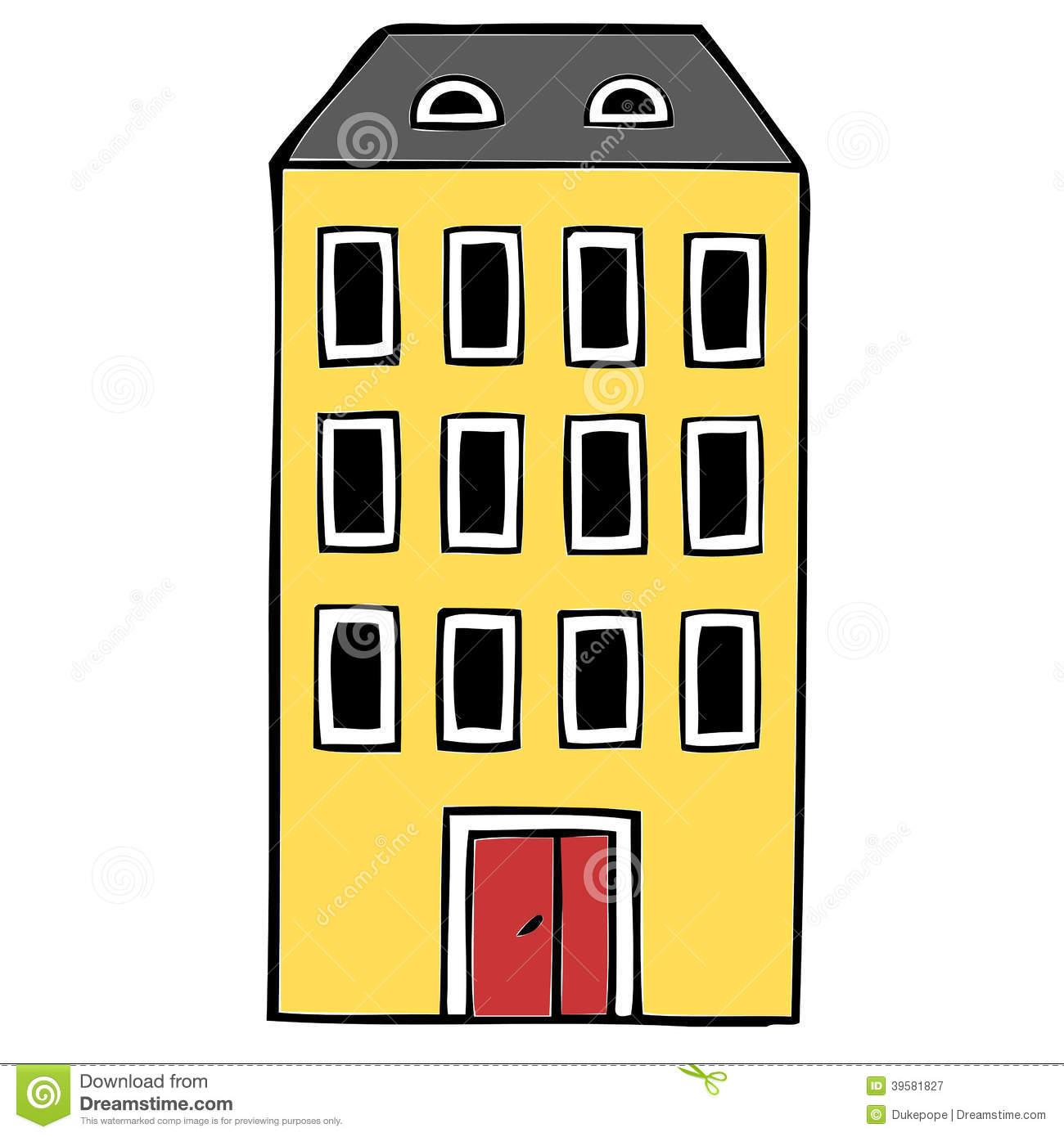 Building free download best. Apartment clipart block flat