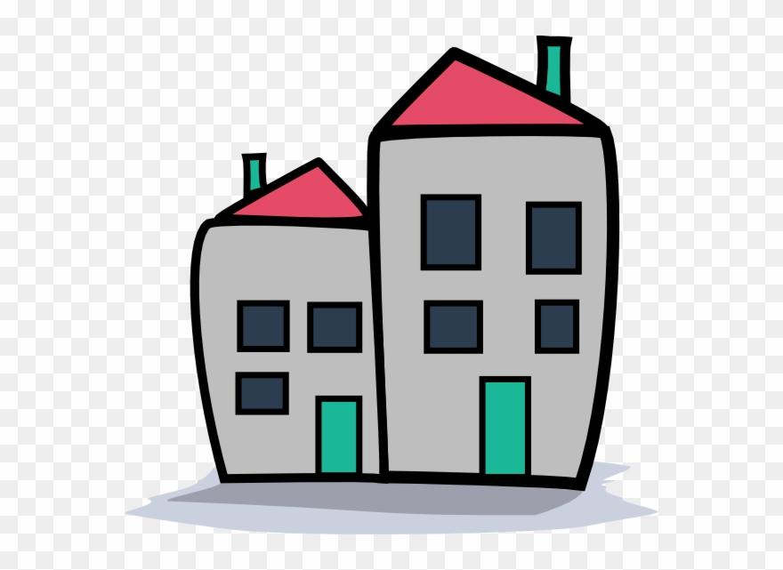 Apartment clipart block flat. Bldg of flats png