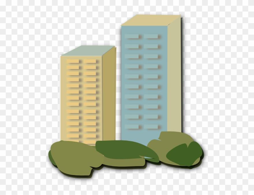 Apartment clipart block flat. Clip art of flats