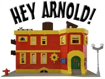 Hey arnold sunset arms. Apartment clipart boarding house