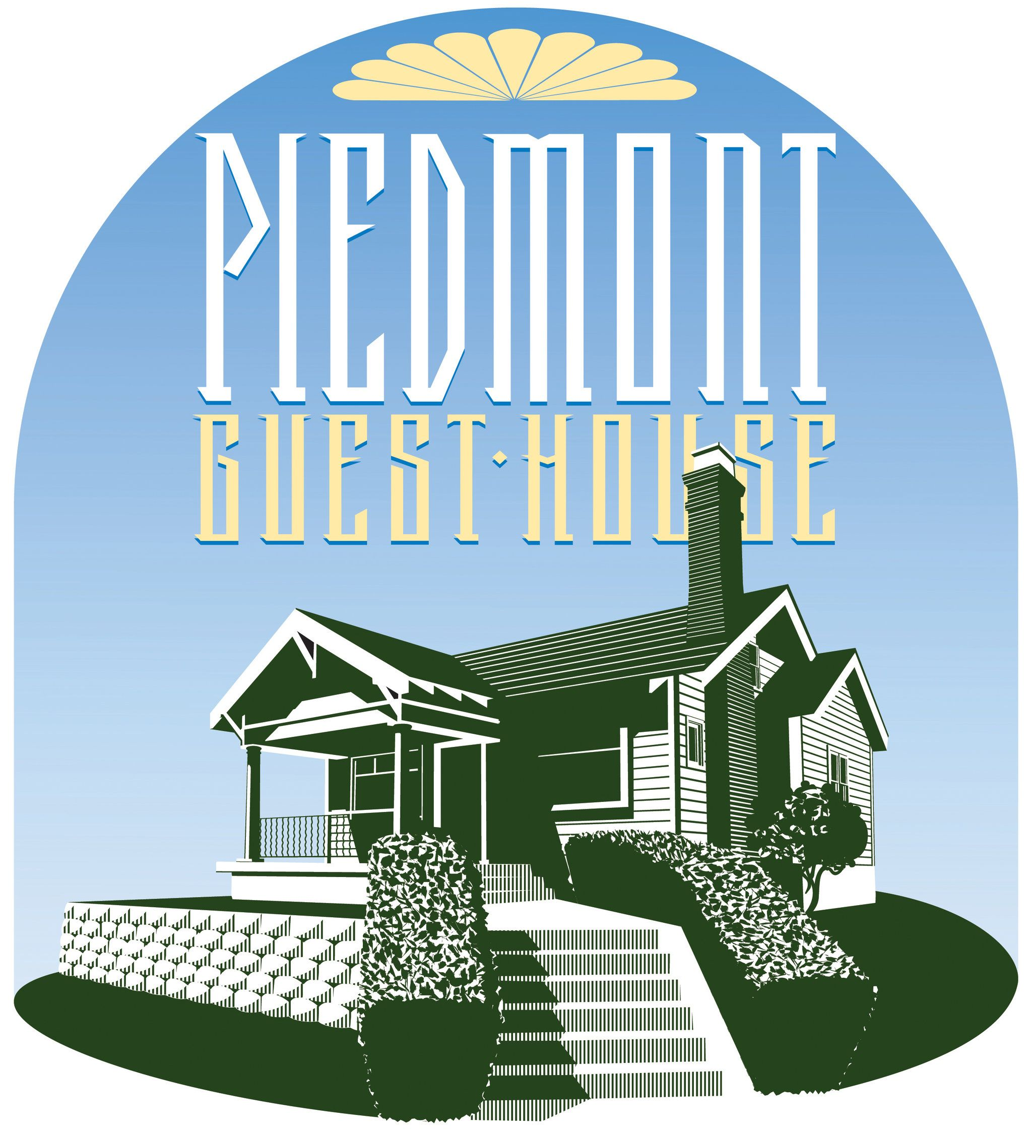 Piedmont arts and crafts. Apartment clipart boarding house