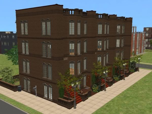 Apartment clipart brownstone.  best lots residential