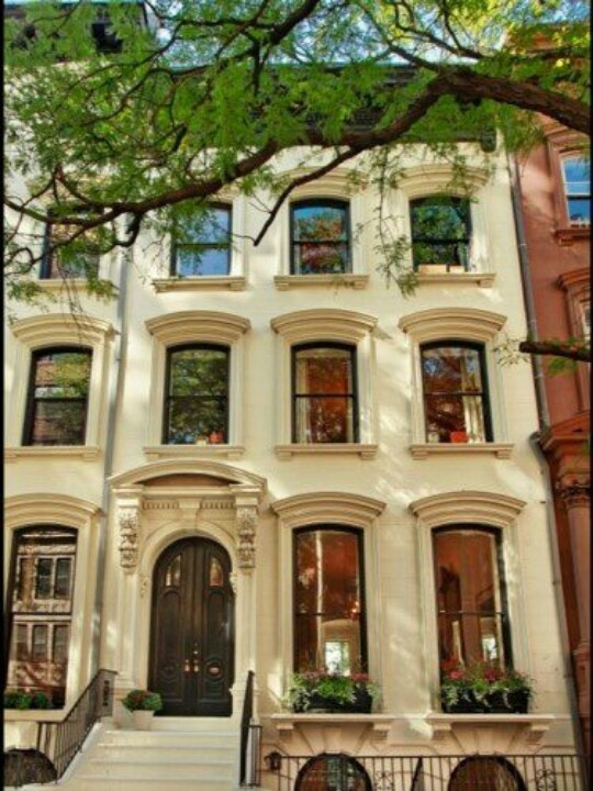 Apartment clipart brownstone.  best brownstones images