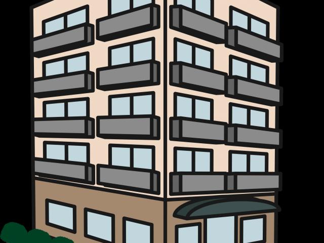 Skyscraper building x free. Apartment clipart buidling