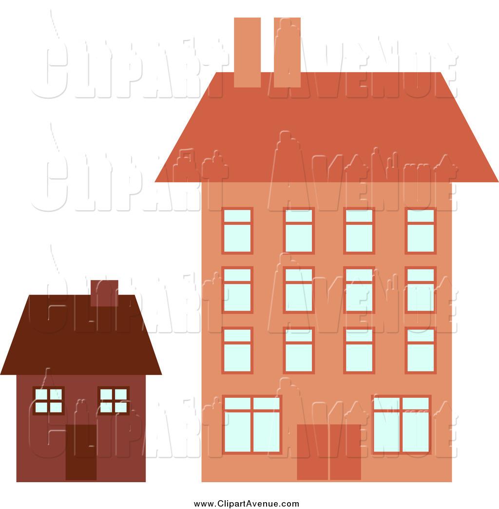 Apartment clipart building design. Avenue new stock designs