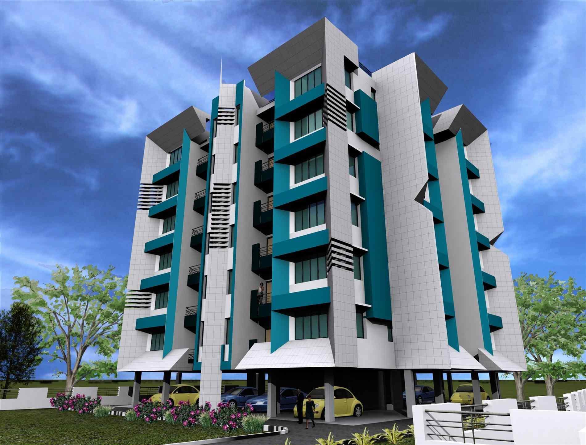 Apartment clipart building design. Complex athelred com pencil