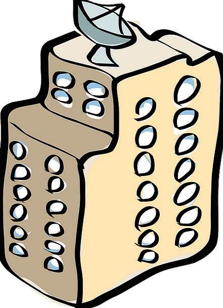 Apartment clipart building structure. Buildings architecture windows gaps