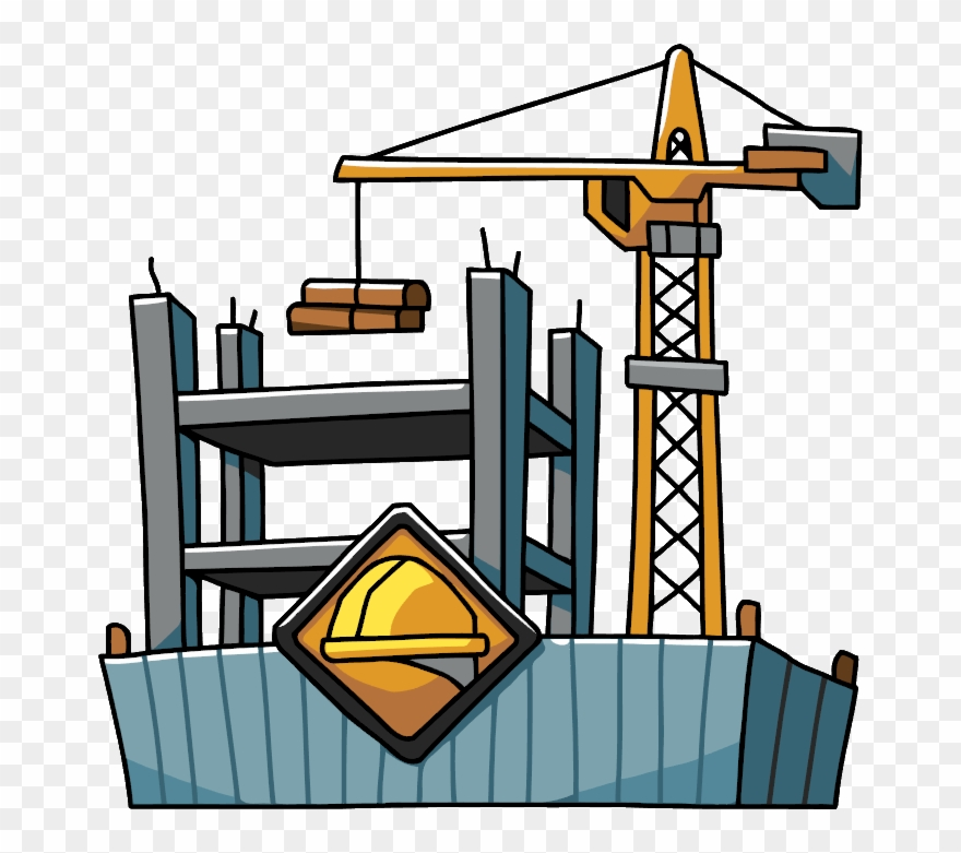 Freeuse stock construction . Apartment clipart building structure