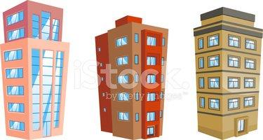 Apartment clipart building structure. Edifice condominium tower