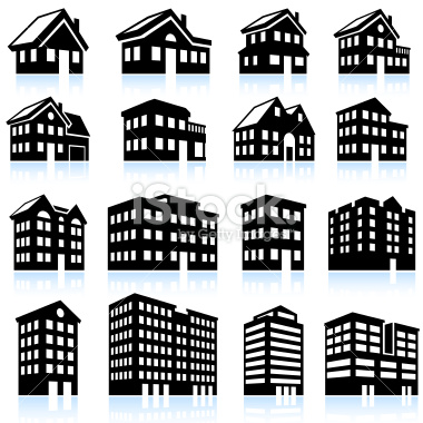 Icon free icons library. Apartment clipart building structure