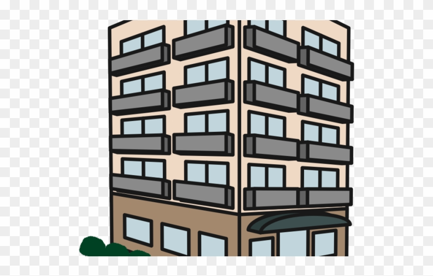 Download free png complex. Apartment clipart bulding