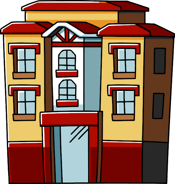 Apartment clipart cartoon. Png strutture case musei