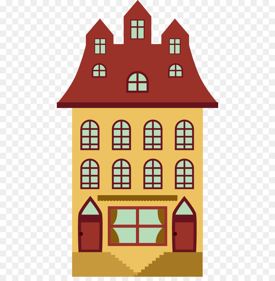Apartment clipart cartoon. Building background house