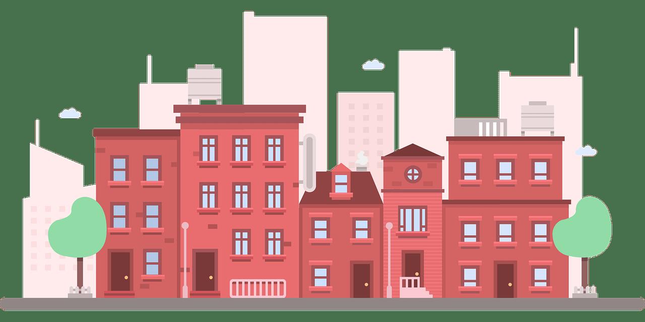 Apartment clipart city apartment. Building clip art nyc
