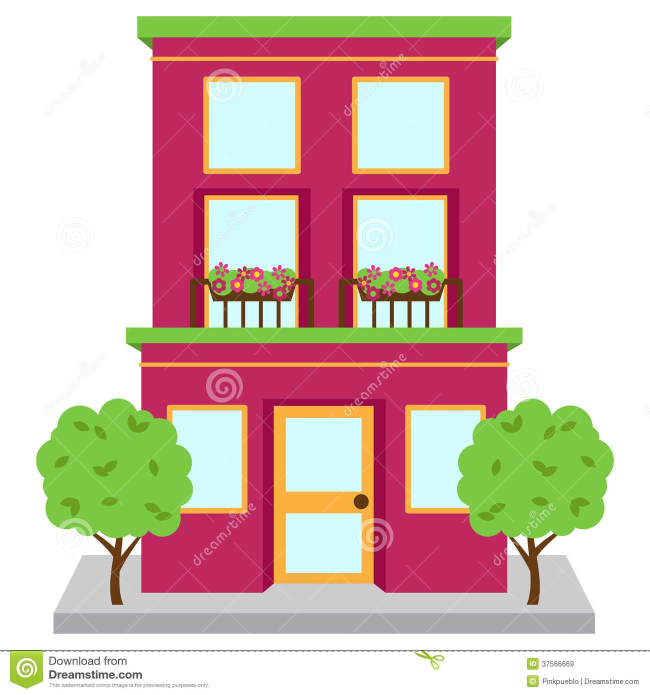 building clipartlook. Apartment clipart clip art