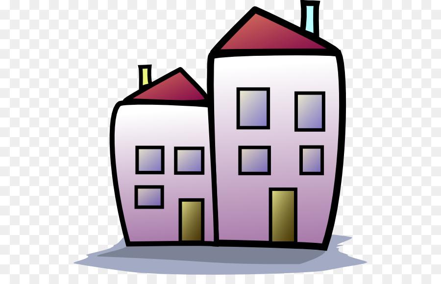 House clip art cliparts. Apartment clipart condo