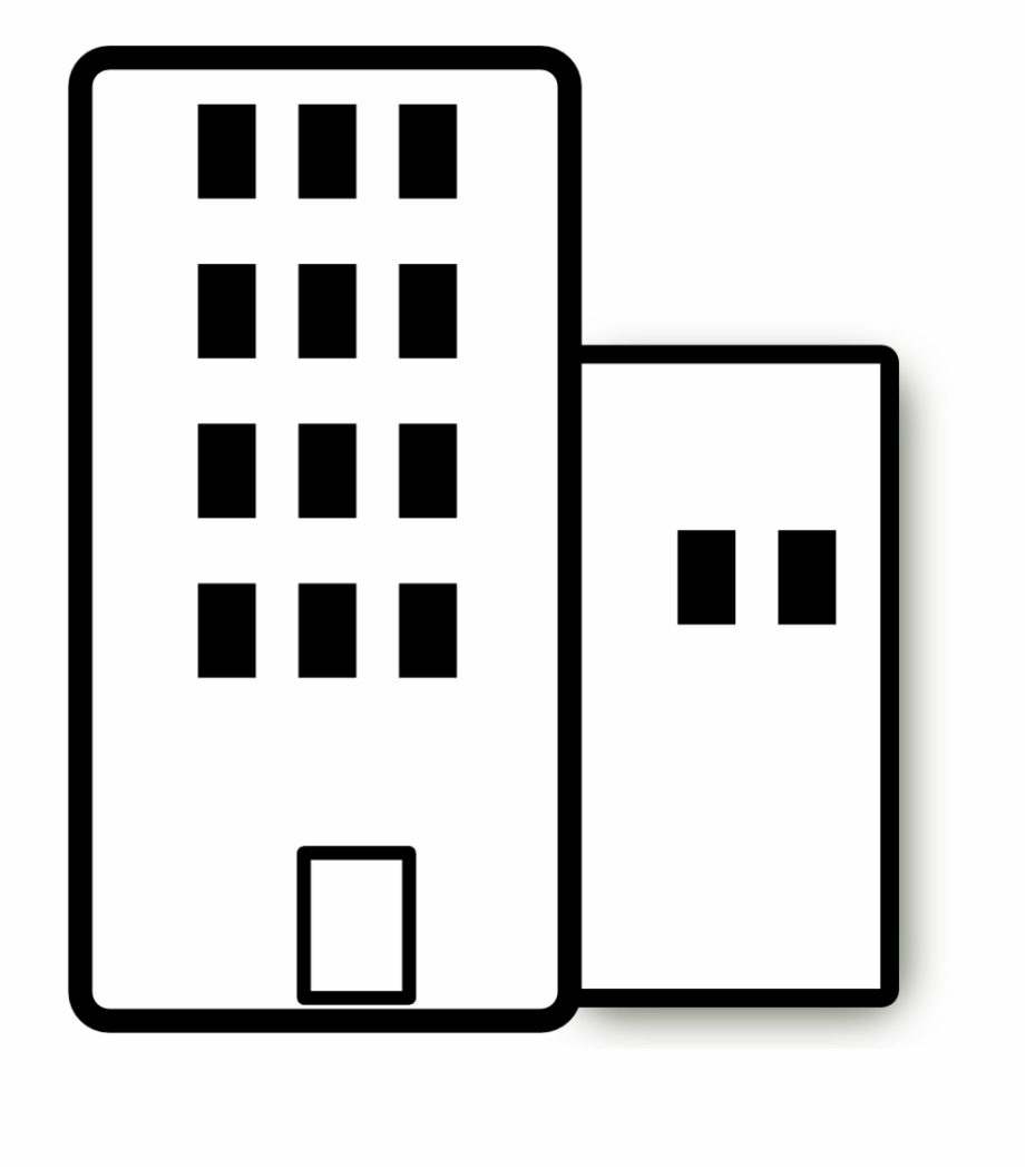 Apartment clipart corporate building. Office svg royalty free