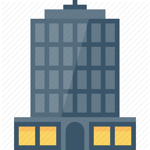 Cartoon company business . Apartment clipart corporate building