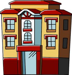 Apartment clipart firm. Png pic strutture case