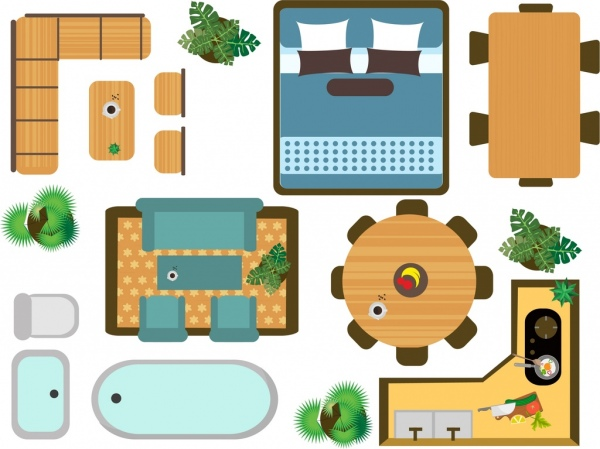 Free vector download for. Apartment clipart flat