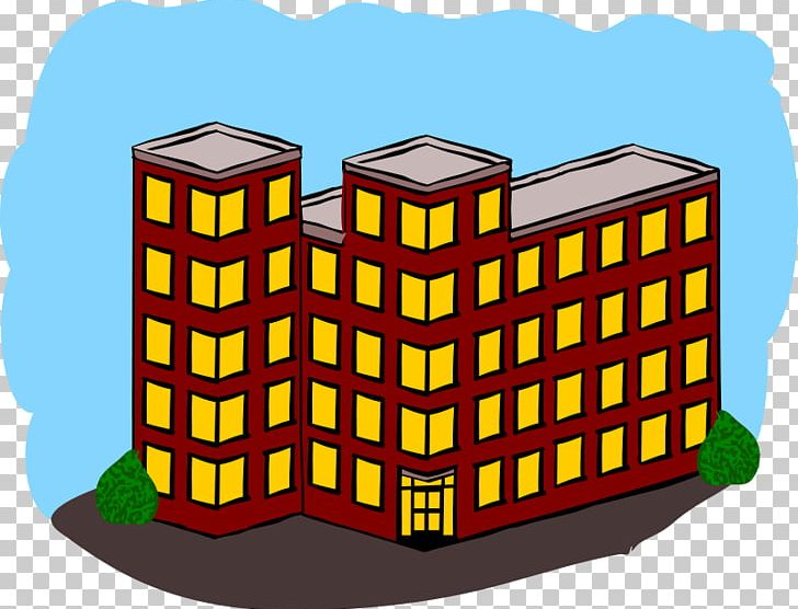 Building house png . Apartment clipart flat