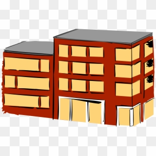 Apartment clipart flat. Computer icons house building