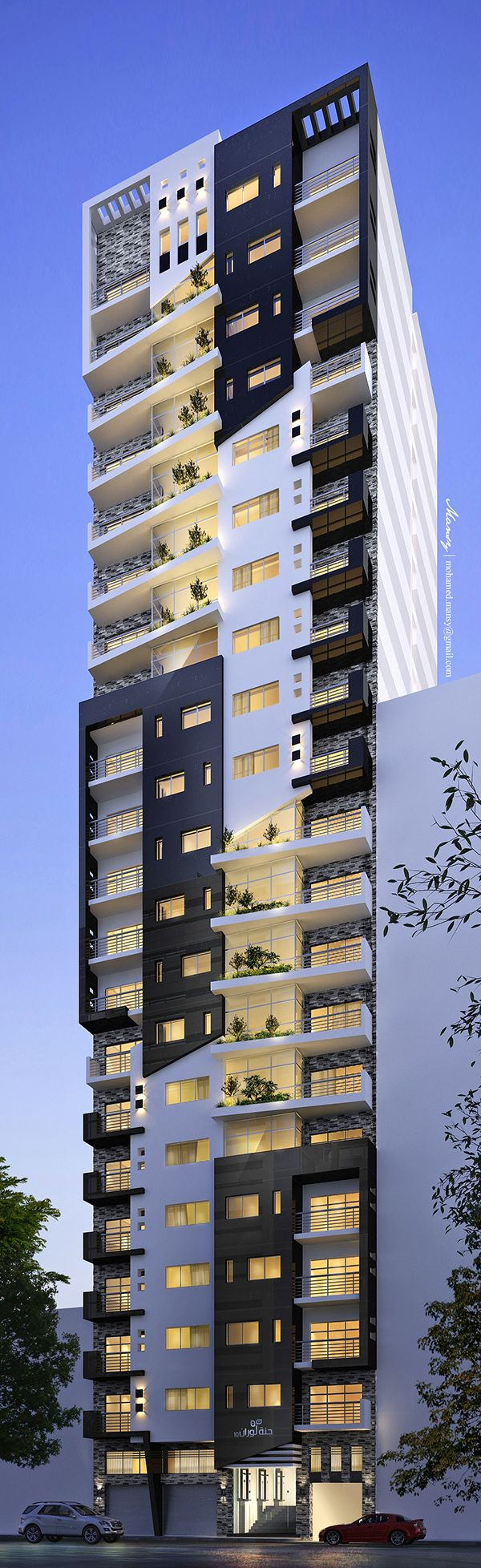 By serg sova at. Apartment clipart high rise building