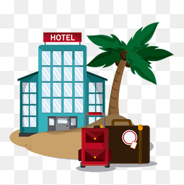 Apartment clipart hotel. Png vectors psd and