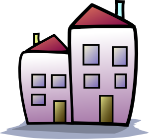 Apartment housing estate