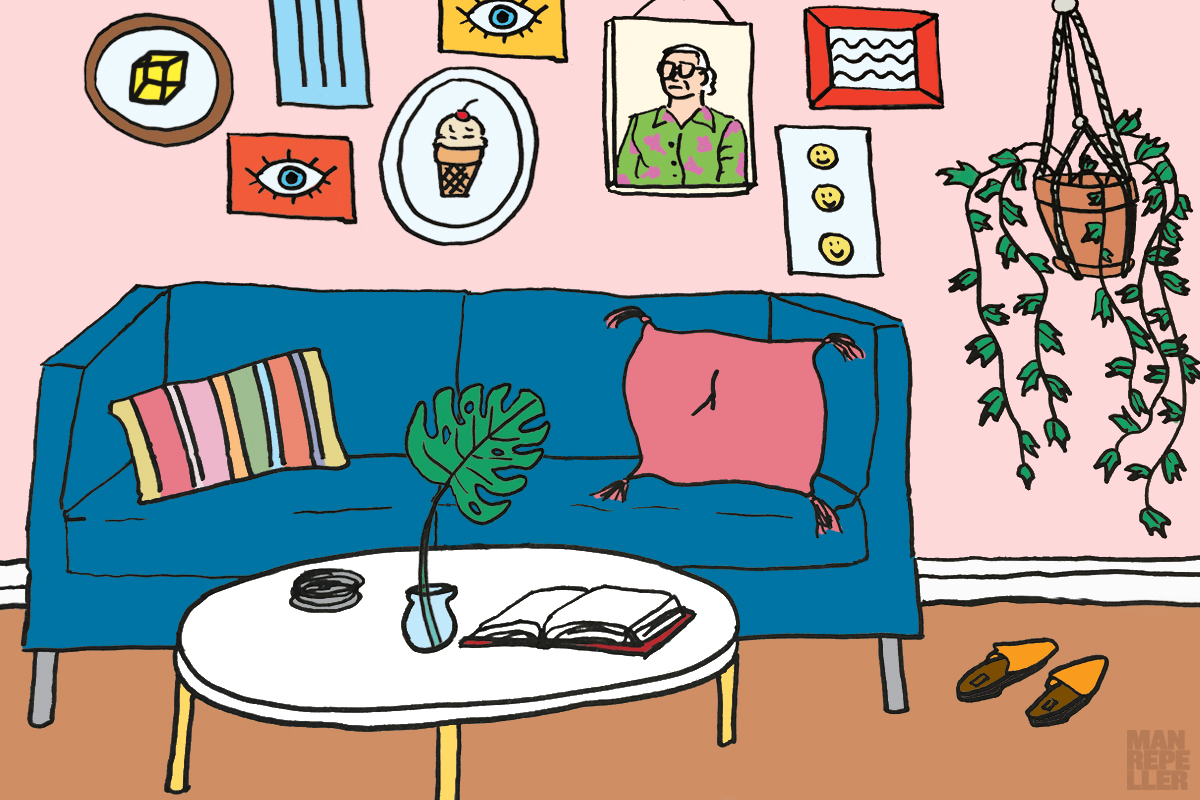 things i wish. Apartment clipart living room