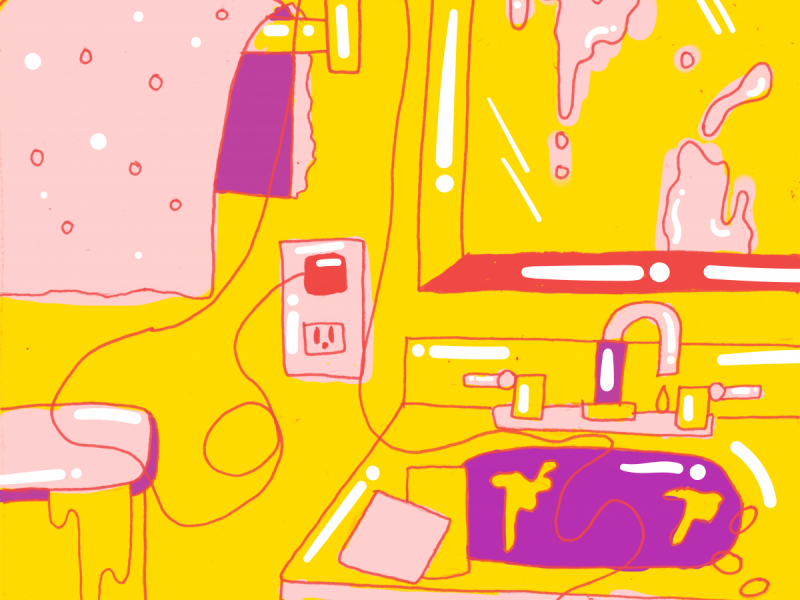 In defense of having. Apartment clipart messy