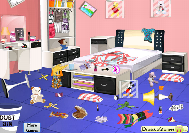 Bedroom clip art library. Apartment clipart messy