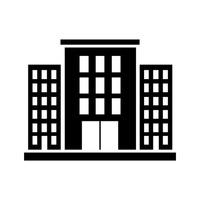 Buildings clipart condominium. Building silhouette clip art
