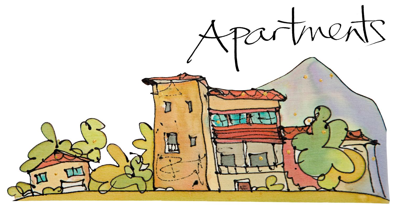 Apartments fl rez estrada. Apartment clipart old apartment