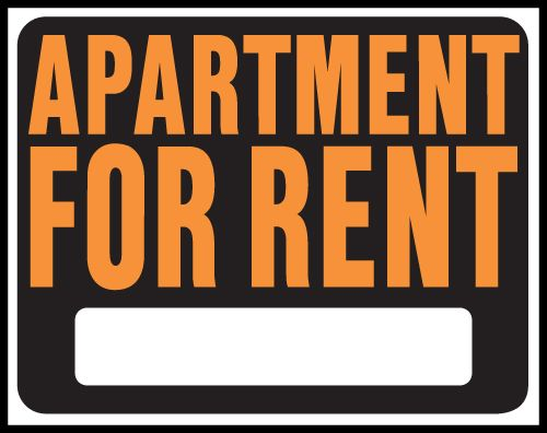 Apartment clipart rent clipart. For signs pinterest renting