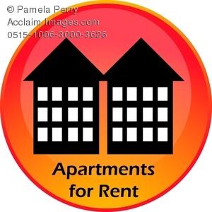 Clip art image of. Apartment clipart rent clipart