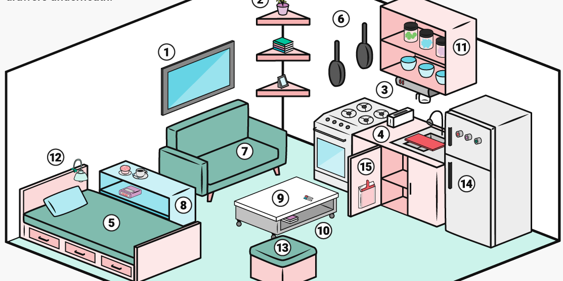 Apartment clipart small apartment. Easy ways to save