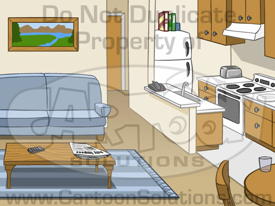 Apartment clipart studio apartment.  collection of inside