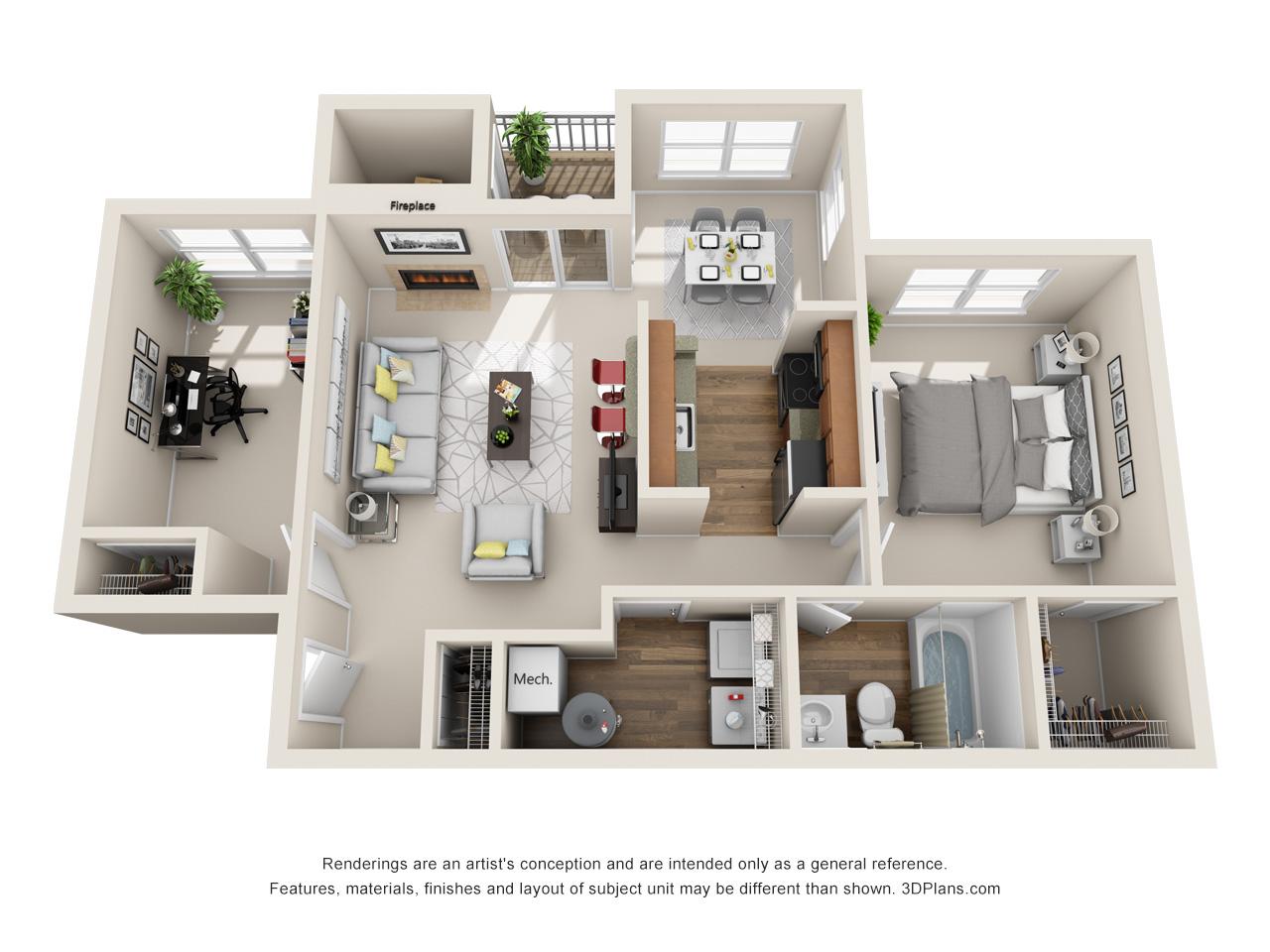 Apartment clipart studio apartment. Marlton apartments hunters chase