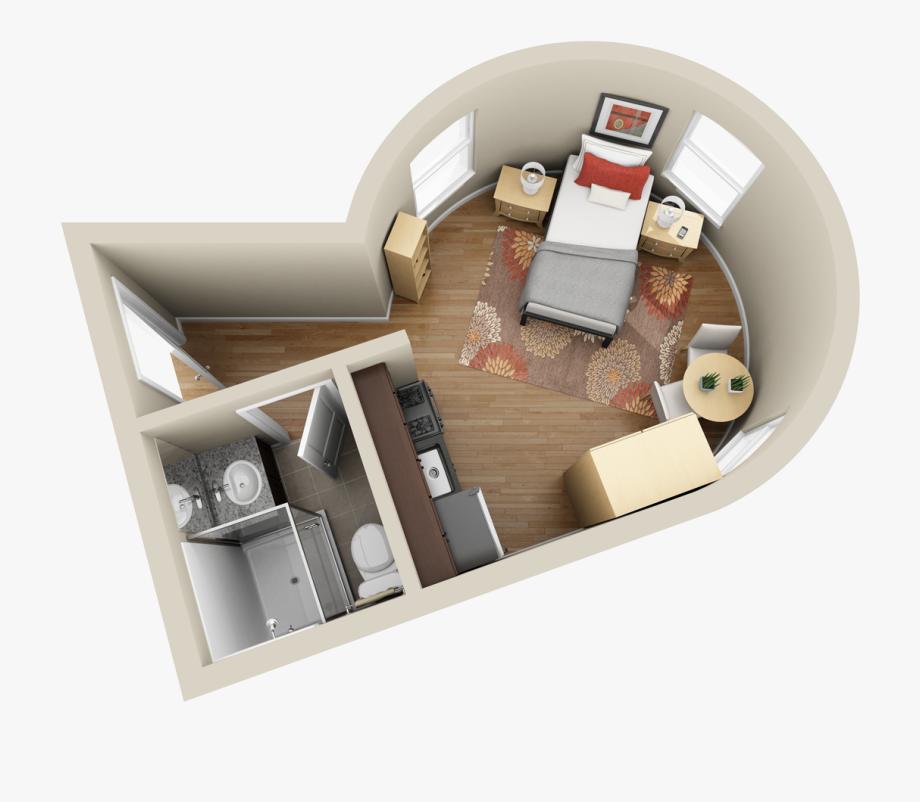 Make your floor plans. Apartment clipart studio apartment