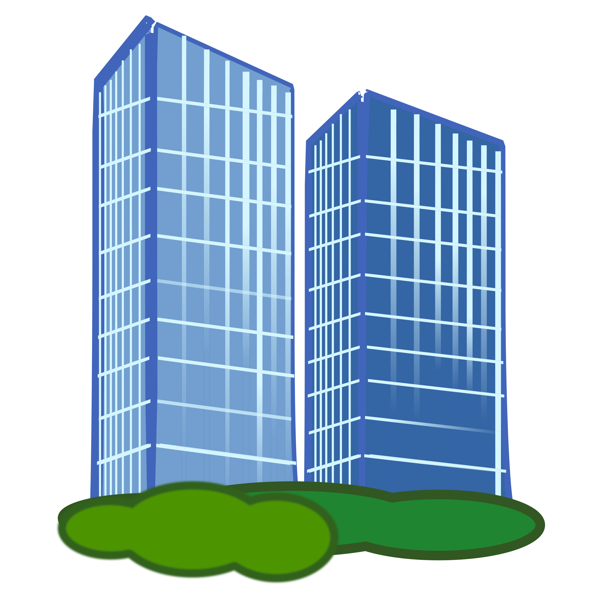Icon x big image. Apartment clipart tower block