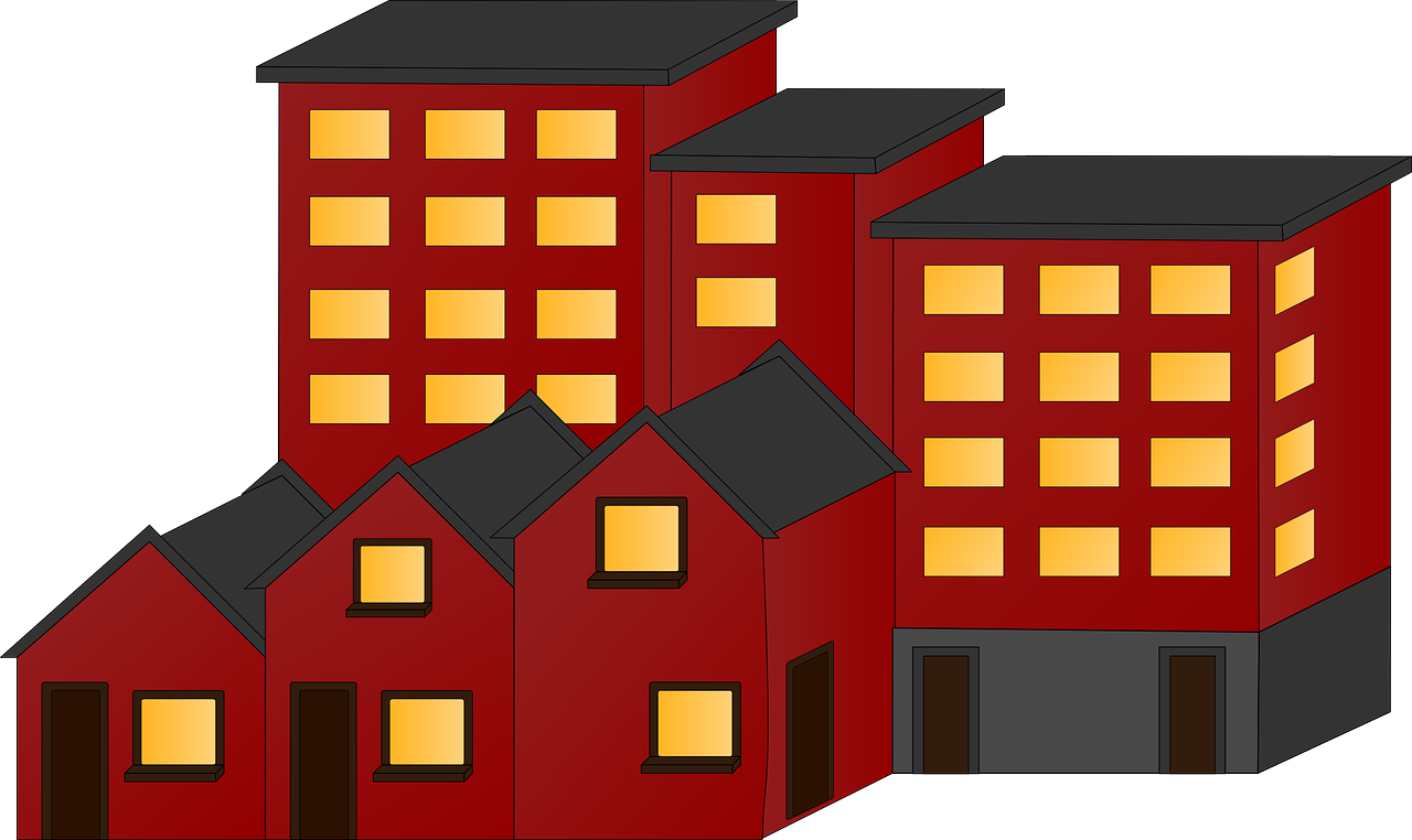 Real estate news texas. Apartment clipart townhouse