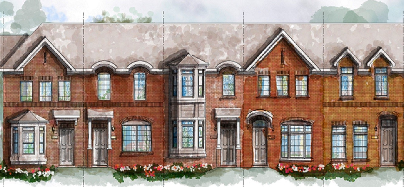 Apartment clipart townhouse. Townhomes of caswell luxury