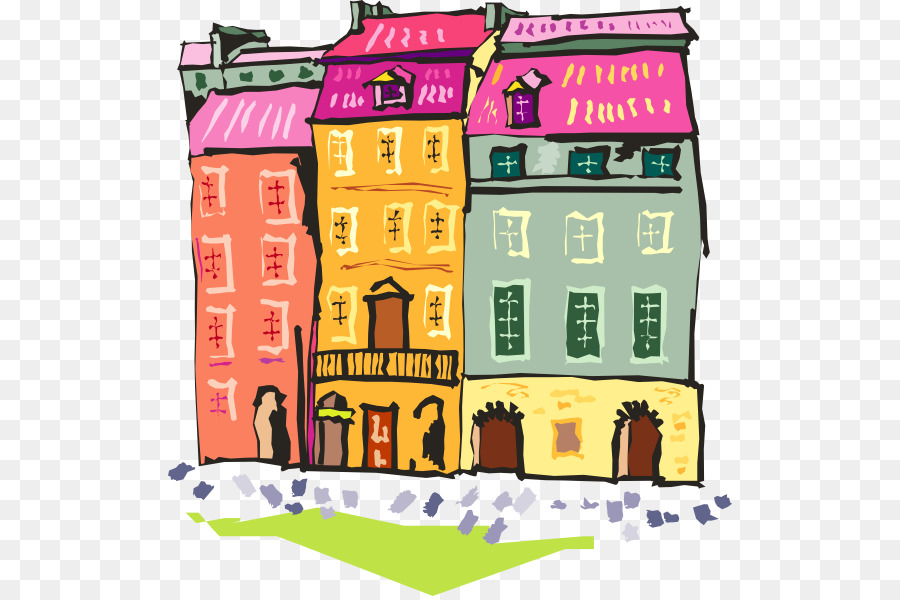 House clip art cliparts. Apartment clipart townhouse