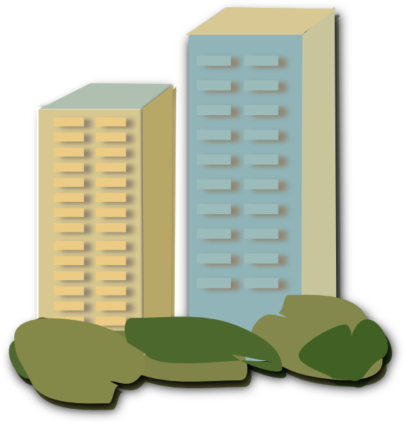 Apartment clipart transparent. Clip art at clker
