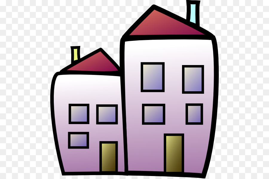 Apartment clipart transparent. House housing renting building