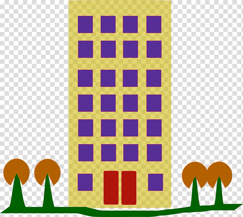 Apartment clipart transparent. House building background