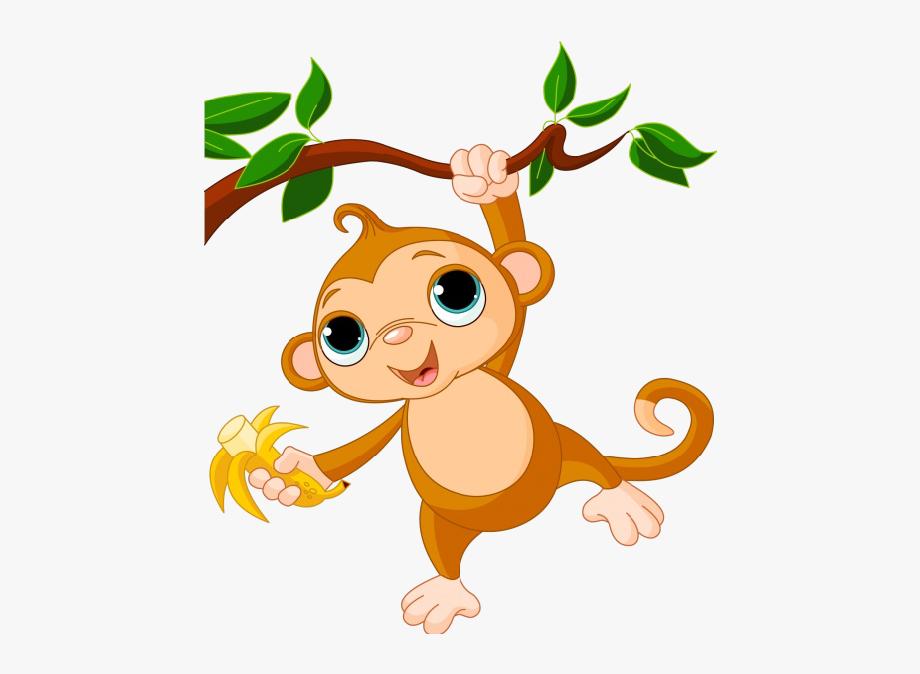 Clip art animated free. Cartoon clipart monkey