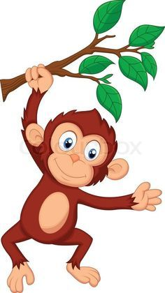 Monkey zekie a st. Ape clipart animated